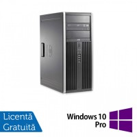 Calculator HP 8200 Tower, Intel Core i5-2400 3.10GHz, 4GB DDR3, 500GB SATA, DVD-ROM (Top Sale!) + Windows 10 Pro