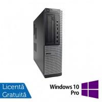 Calculator DELL OptiPlex 7010 Desktop, Intel Core i3-3220 3.30GHz, 4GB DDR3, 500GB SATA, DVD-ROM + Windows 10 Pro
