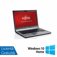 Laptop FUJITSU SIEMENS E734, Intel Core i5-4200M 2.50GHz, 8GB DDR3, 120GB SSD, 13.3 Inch, Fara Webcam + Windows 10 Home