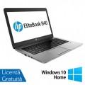Laptop HP EliteBook 840 G1, Intel Core i5-4200U 1.60GHz, 4GB DDR3, 120GB SSD, 14 Inch, Webcam + Windows 10 Home