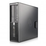 Workstation HP Z200 SFF, Intel Core i3-540 3.06GHz, 4GB DDR3, 250GB SATA, DVD-RW