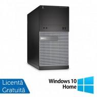 Calculator DELL Optiplex 3020 Tower, Intel Core i7-4790 3.60GHz, 8GB DDR3, 2 x 2TB SATA, DVD-RW + Windows 10 Home