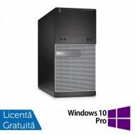 Calculator DELL Optiplex 3020 Tower, Intel Core i7-4790 3.60GHz, 8GB DDR3, 500GB SATA, DVD-RW + Windows 10 Pro
