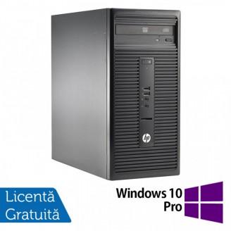 Calculator HP 280 G1 Tower, Intel Core i5-4570S 2.90GHz, 4GB DDR3, 500GB SATA, DVD-RW + Windows 10 Pro