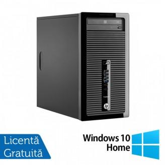 Calculator HP 400 G2 Tower, Intel Core i5-4570 3.20GHz, 4GB DDR3, 500GB SATA, DVD-ROM + Windows 10 Home