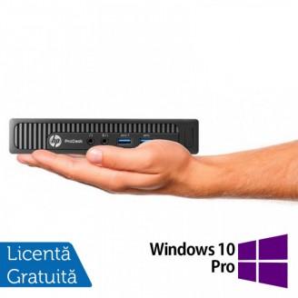 Calculator HP EliteDesk 800 G1 Mini PC, Intel Core i5-4590T 2.00GHz, 4GB DDR3, 500GB SATA + Windows 10 Pro