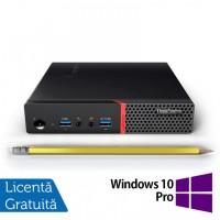Calculator Mini PC Lenovo ThinkCentre M900, Intel Core i5-6500T 2.50GHz, 8GB DDR4, 500GB SATA + Windows 10 Pro