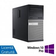 Calculator Dell OptiPlex 7010 Tower, Intel Core i7-3770 3.40GHz, 8GB DDR3, 240GB SSD, DVD-RW + Windows 10 Pro
