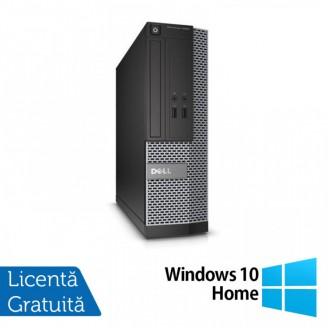 Calculator DELL Optiplex 3020 SFF, Intel Celeron G1840 2.80GHz, 4GB DDR3, 500GB SATA + Windows 10 Home