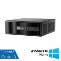 Calculator HP 400 G3 SFF, Intel Core i7-6700 2.80GHz, 8GB DDR4, 240GB SSD, DVD-RW + Windows 10 Home