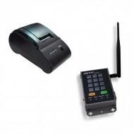 Kit Wireless de Imprimare Etichete 4IPNET, Imprimanta Termica PRT100 + SDS200W, 52mm/sec, 802.11 b/g/n