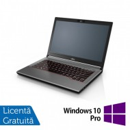 Laptop Fujitsu Lifebook E744, Intel Core i5-4200M 2.50GHz, 4GB DDR3, 120GB SSD, DVD-RW, Fara Webcam, 14 Inch + Windows 10 Pro