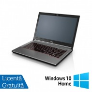 Laptop Fujitsu Lifebook E744, Intel Core i5-4200M 2.50GHz, 4GB DDR3, 120GB SSD, DVD-RW, Fara Webcam, 14 Inch + Windows 10 Home