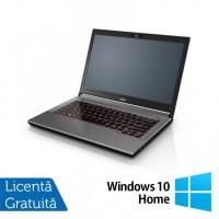 Laptop Fujitsu Lifebook E744, Intel Core i5-4200M 2.50GHz, 4GB DDR3, 120GB SSD, DVD-RW, Fara Webcam, 14 Inch + Windows 10 Home