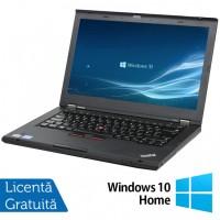 Laptop Lenovo ThinkPad T430, Intel Core i5-3320M 2.60GHz, 4GB DDR3, 120GB SSD, 14 Inch, Webcam + Windows 10 Home