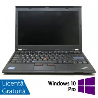 Laptop LENOVO ThinkPad X220, Intel Core i5-2520M 2.50GHz, 4GB DDR3, 120GB SSD, Webcam, 12.5 Inch + Windows 10 Pro