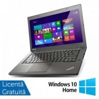 Laptop LENOVO ThinkPad T440P, Intel Core i5-4300M 2.60GHz, 4GB DDR3, 500GB SATA, DVD-RW, 14 Inch, Fara Webcam + Windows 10 Home