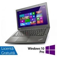Laptop LENOVO ThinkPad T440P, Intel Core i5-4300M 2.60GHz, 4GB DDR3, 500GB SATA, DVD-RW, 14 Inch + Windows 10 Pro