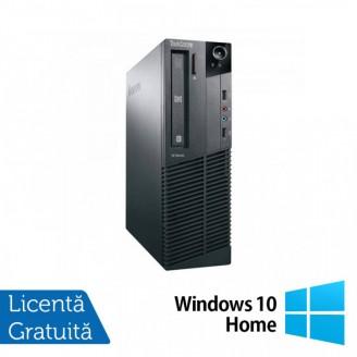 Calculator Lenovo M81 SFF, Intel Core i5-2400 3.10GHz, 4GB DDR3, 250GB SATA, DVD-ROM + Windows 10 Home